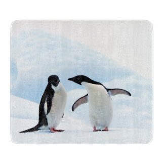 Adelie Penguins Cutting Board