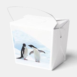 Adelie Penguins Favour Box