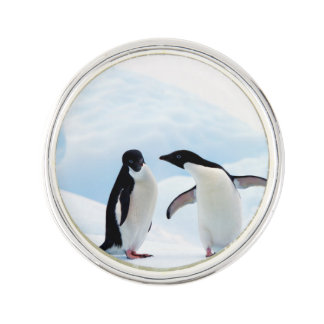 Adelie Penguins Lapel Pin