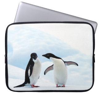 Adelie Penguins Laptop Sleeve