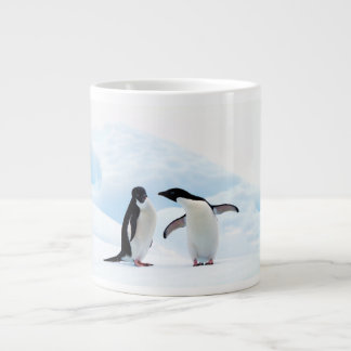 Adelie Penguins Large Coffee Mug