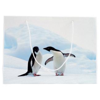 Adelie Penguins Large Gift Bag