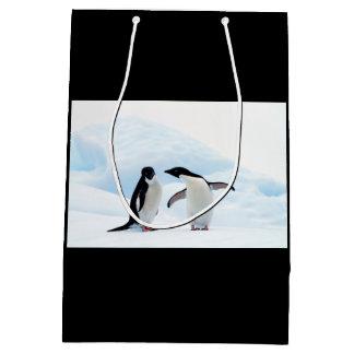 Adelie Penguins Medium Gift Bag