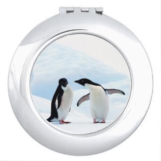 Adelie Penguins Mirror For Makeup