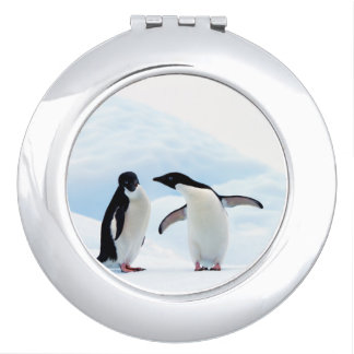 Adelie Penguins Mirrors For Makeup