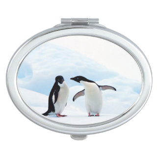 Adelie Penguins Travel Mirror