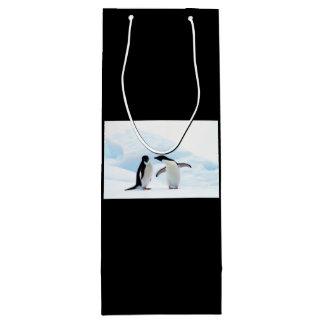 Adelie Penguins Wine Gift Bag