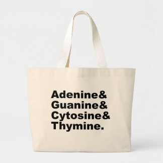 Adenine Guanine Cytosine Thymine DNA Nucleotides Bags