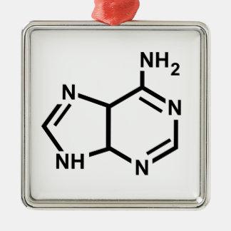 Adenine Metal Ornament