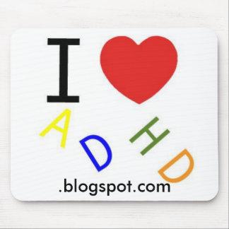 ADHD blogspot com Mouse Mat
