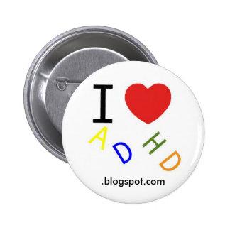 ADHD blogspot com Pinback Buttons