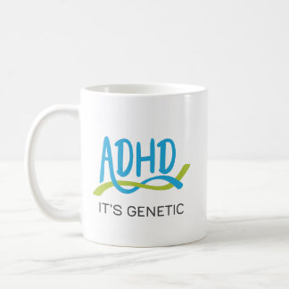 ADHD DNA - It's Genetic Coffee Mug
