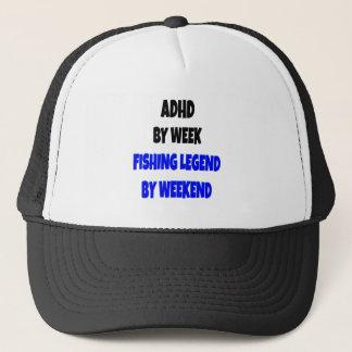 ADHD Fishing Legend Trucker Hat