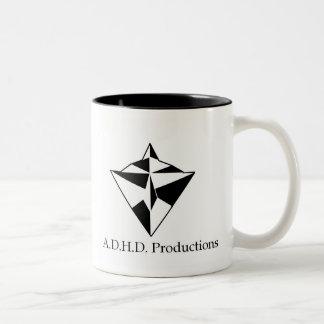 adhd logo 2 sided mug