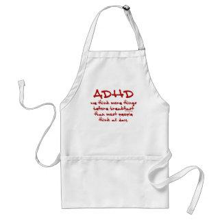ADHD Think More Apron