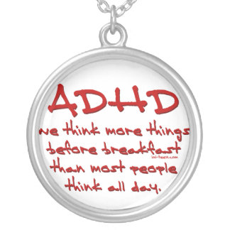 ADHD Think More Necklace