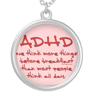 ADHD Think More Pendants