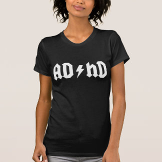 ADHD White Tshirts