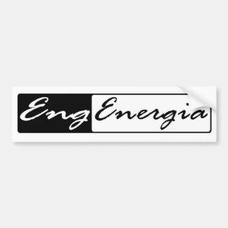 Adhesive Engineering of Energy Bumper Sticker