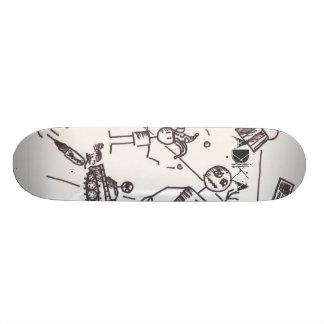 ADIKA , sb 20.6 Cm Skateboard Deck
