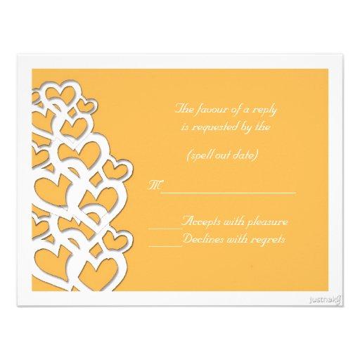 adinkra akoma (heart) beeswax rsvp personalized invitation