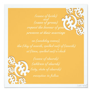 adinkra gye nyame (except for God) beeswax 13 Cm X 13 Cm Square Invitation Card