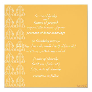 adinkra odo nyera (love finds its way) beeswax 13 cm x 13 cm square invitation card