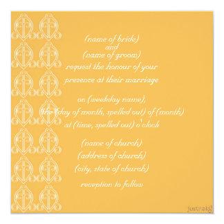 adinkra odo nyera (love finds its way) beeswax invitation