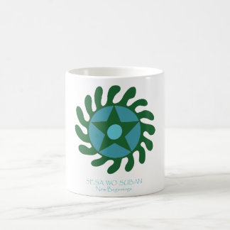 Adinkra Sesa Wo Suban - New Beginnings Coffee Mug