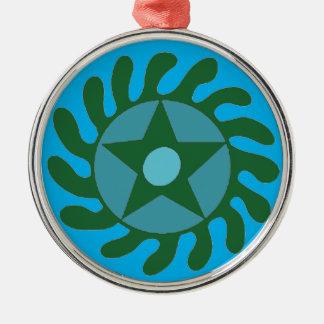 Adinkra Sesa Wo Suban - New Beginnings Metal Ornament