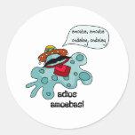 Adios Amoebas Sticker