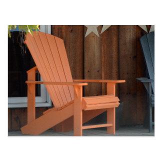 Adirondack Chair Postcard
