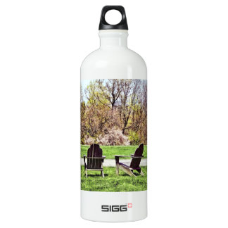 Adirondack Chairs In Spring Water Bottle