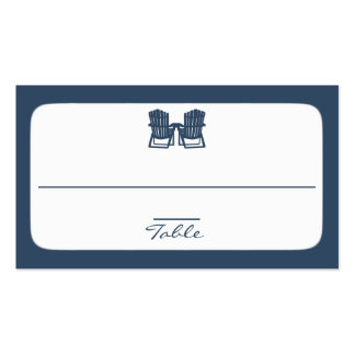 Adirondack Chairs Pack Of Standard Business Cards