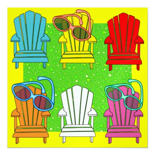 Adirondack Chairs - SRF Personalized Invite