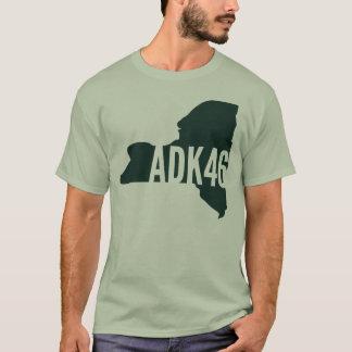 Adirondack High Peaks List T-Shirt