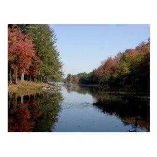 Adirondack Lake Post Card