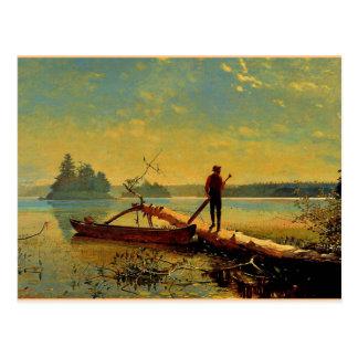 Adirondack Lake Postcard