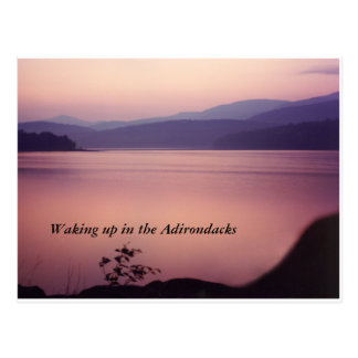Adirondack Morning Postcard
