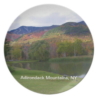 Adirondack Mountains Photo Plate