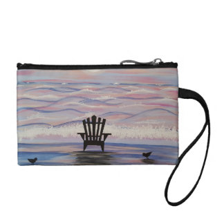 Adirondack Soft Waves Coin Clutch