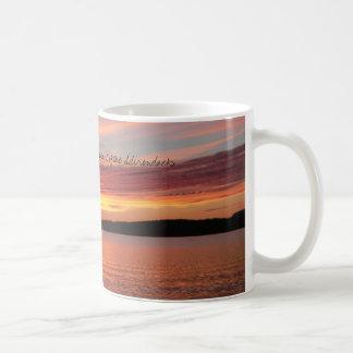 Adirondack Sunset Basic White Mug