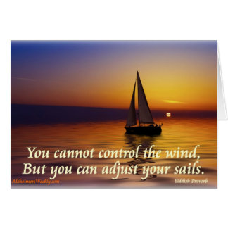 Adjust Sails-Greating Card