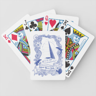 Adjust Your Sails Bicycle Playing Cards