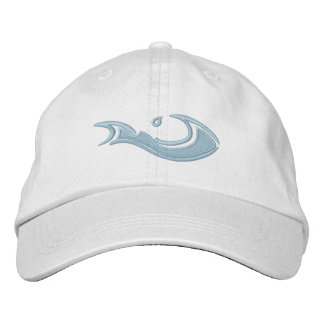 Adjustable Cap with WAVMA swoosh Baseball Cap