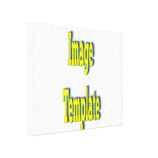 Adjustable Create Your Own Product Template Canvas Print