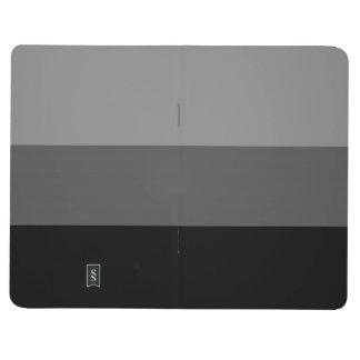 Adjustable Striped Grey Pocket Journal