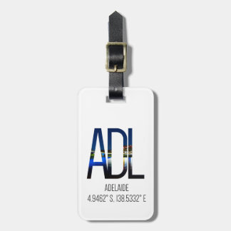 ADL Adelaide luggage tag