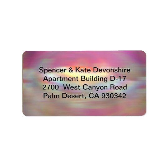 Adlam Vivy Address Address Label
