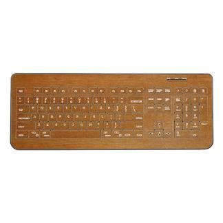 Adler Wood Wireless Keyboard